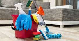 Required a Full time live in female house helper in all female family
