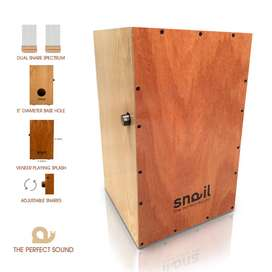 Snail Cajon SBB-1/2020 Adjustable Snare, Hand crafted, Beat Box