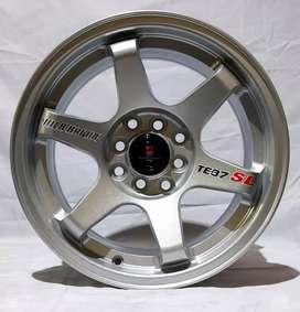 Jual velg racing Ring 15 Untuk mobil Mirage, Datsun,Brio(bisa credit)