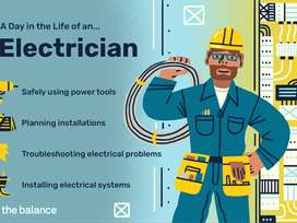 Wanted - Electrician with CCTV fixing Experience