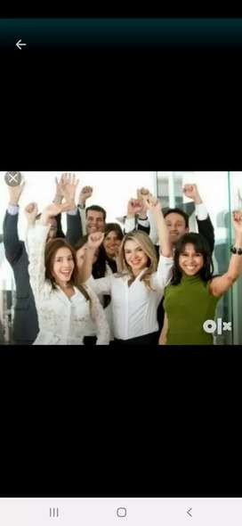 Urgently required graduate office assistant girls