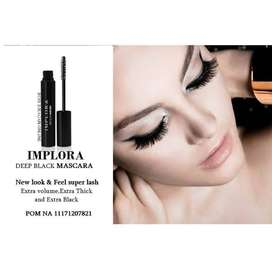 ( ISI 12 PCS) IMPLORA DEEP BLACK MASCARA - New look & feel super lash