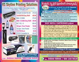 Printer toner cartridge and powders for low price HP canon, sumsung