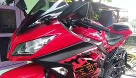 Dijual ninja 250 harga Rp 36000000