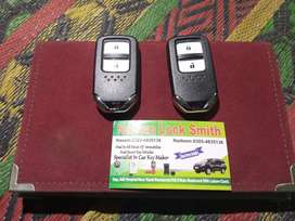 Honda vezel and Honda fit remote available