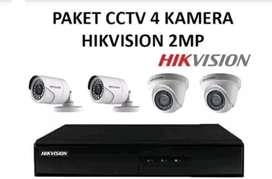 Promo paket kamera CCTV 2mp full HD bergaransi resmi