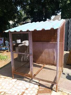 Dog House iron material