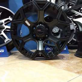 Credits VELg racing ring18 HSRwheel Pcd 6×139,7 buat Pajero Fortuner