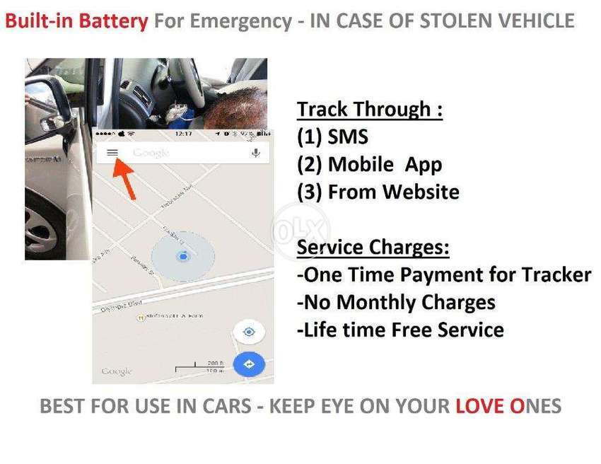 Tracking Device For Vehicles - One Time Payment : No Monthly Fee 0