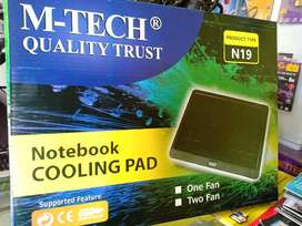 Fan Laptop M Tech , Cooling pad, Kipas Laptop, Pendingin Laptop.