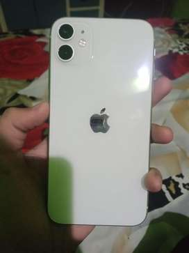 Iphone 11 new condition no single scratch 1 year old