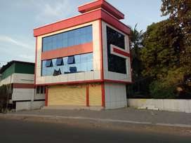 Aluva town bypass frontage 3200sqft commercial buildung for sale