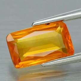 Natural Yellow Sapphire 1.28 Ct High Quality Memo