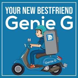 Delivery Boy / Delivery Executive (Genie G) - Noida