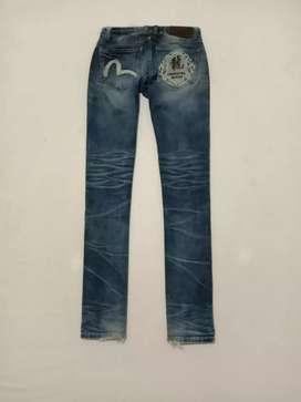 Evisu Oriental Jeans size 30 Made in Korea