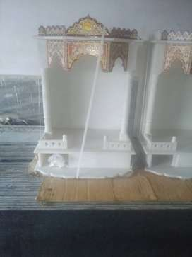 White Marble Mandir / Temple for sale at Lucknow.