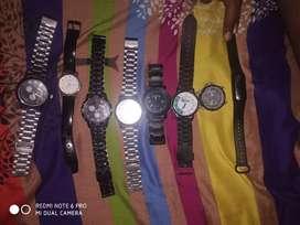 (2 Sonata watch,1 fastrack watch,& 4 non brand watch ,1 digital watch)