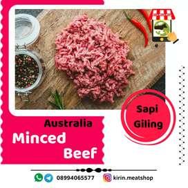 Daging sapi giling lokal dan import