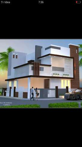 67 Lakhs 3 Bhk house sale in Vadavalli