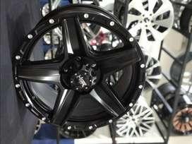 Velg Mobil Offroud Ring 17 Model Landmark Untuk Xpander,Innova, Brv