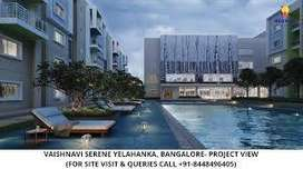 1 BHK Flat for sale in Vaishnavi Serene apartment