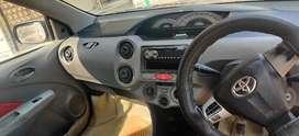 Toyota Etios 2011 Diesel 64000 Km Driven December month