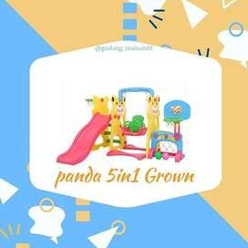 Maianan Playground 4 in 1 Lengkap Bentuk Panda