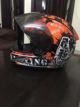 THH Helmet Orange DANGER