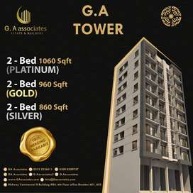 Ga Tower 2 Bed Apartments And Shops Available For Booking