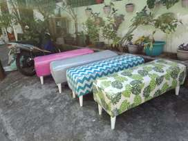 sofa bench stool retro promosi..