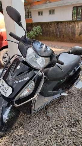 Urgent sale Single owner Suzuki access 125
