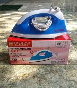 Setrika listrik 'Sanex' otomatis & anti lengket