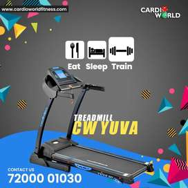 New year special offer on Treadmill with 16 km/hr speed