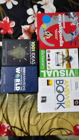 Visual dictionary and other science books