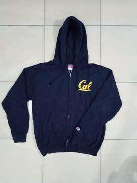 Zip hoodie champion print logo