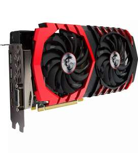 RX 580 8gb MSI gaming graphic card