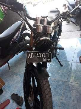 Honda tiger body cb