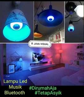 lampu tidur ruangan + musik bluetooth