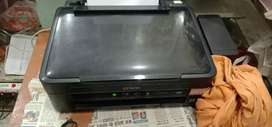 Epso l380 printer 3in one colour black And white with scanner