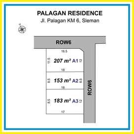 Tanah Kavling di Jalan Kaliurang Km 6, Dekat Jl Raya Palagan