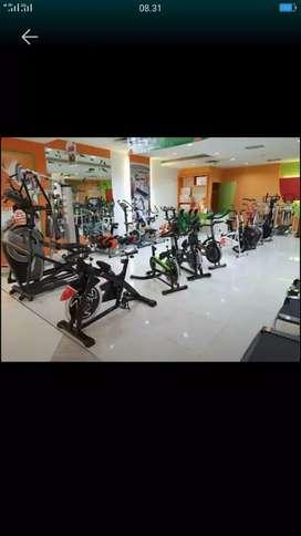 Treadmill elektrik#sepeda statis baru