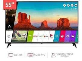 SMART TV LG 55 inch 4K ULTRA HD with HDR support 55UM7100 NEW 2020