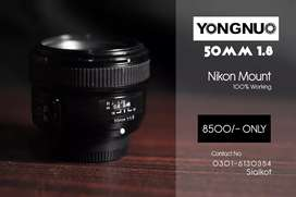 Youngnuo 50mm 1.8