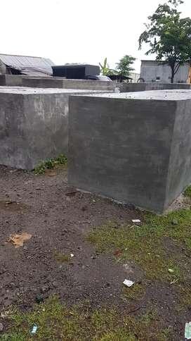 Bak tandon air beton cor