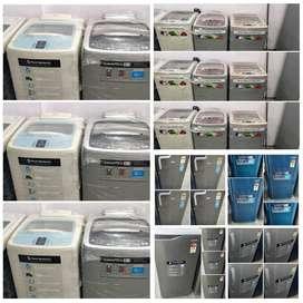 Best 5 year warranty Washing machine // single door fridge available