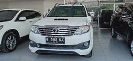 Toyota Fortuner G TRD VNT AT Th 2013 siap pakai