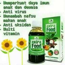 Extra Food (meningkatkan nafsu makan anak)