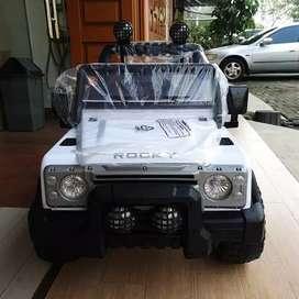 Mobil Mainan Model Jeep /Mobil Mainan Volta Rocky Pakai Remote Control