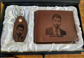 Set of Picture Wallet + Picture Key chain