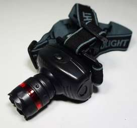 Headlamp Zoom / Terang (Senter Kepala)